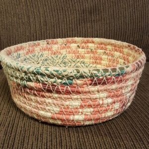 handmade cloth basket